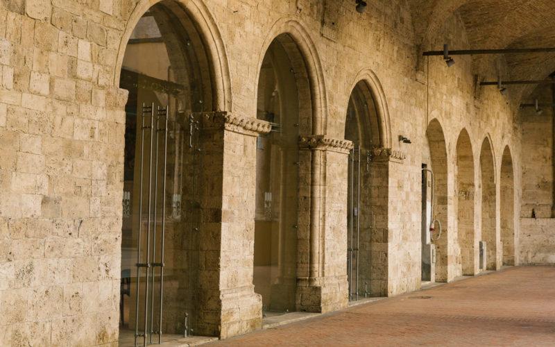 Tra i luoghi sicuramente da vedere ad Ascoli Piceno: la Sala Cola dell'Amatrice