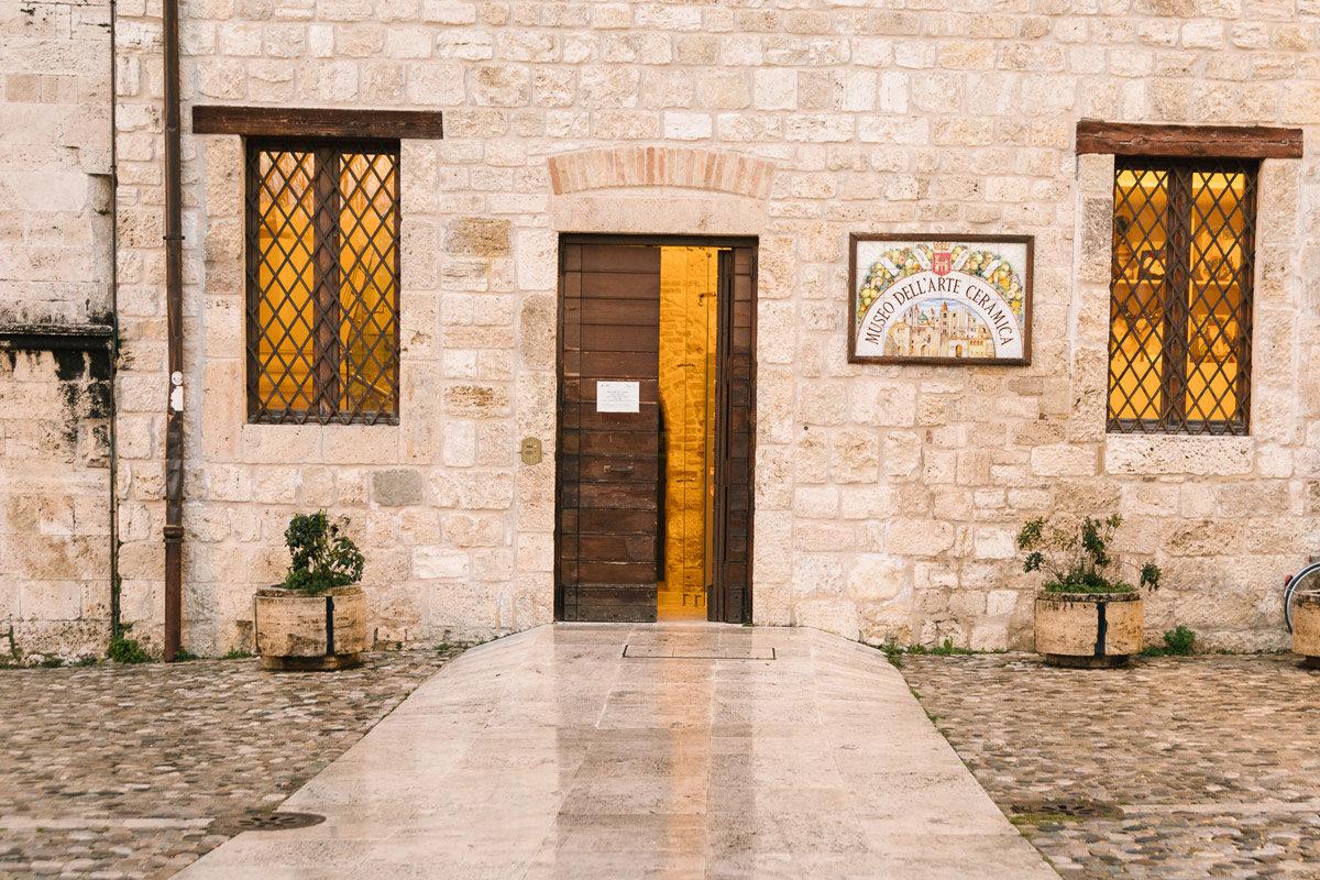 Visit Ascoli Museo della Ceramica ingresso