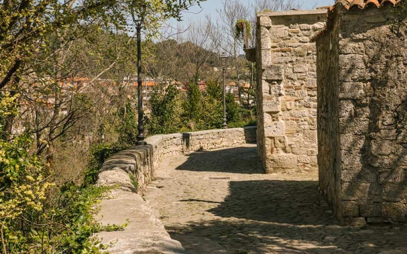 The romantic place par excellence in Ascoli Piceno: Rua delle Stelle