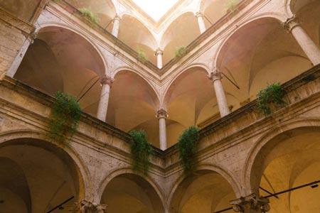 Visit Ascoli vista interna Palazzo die Capitani