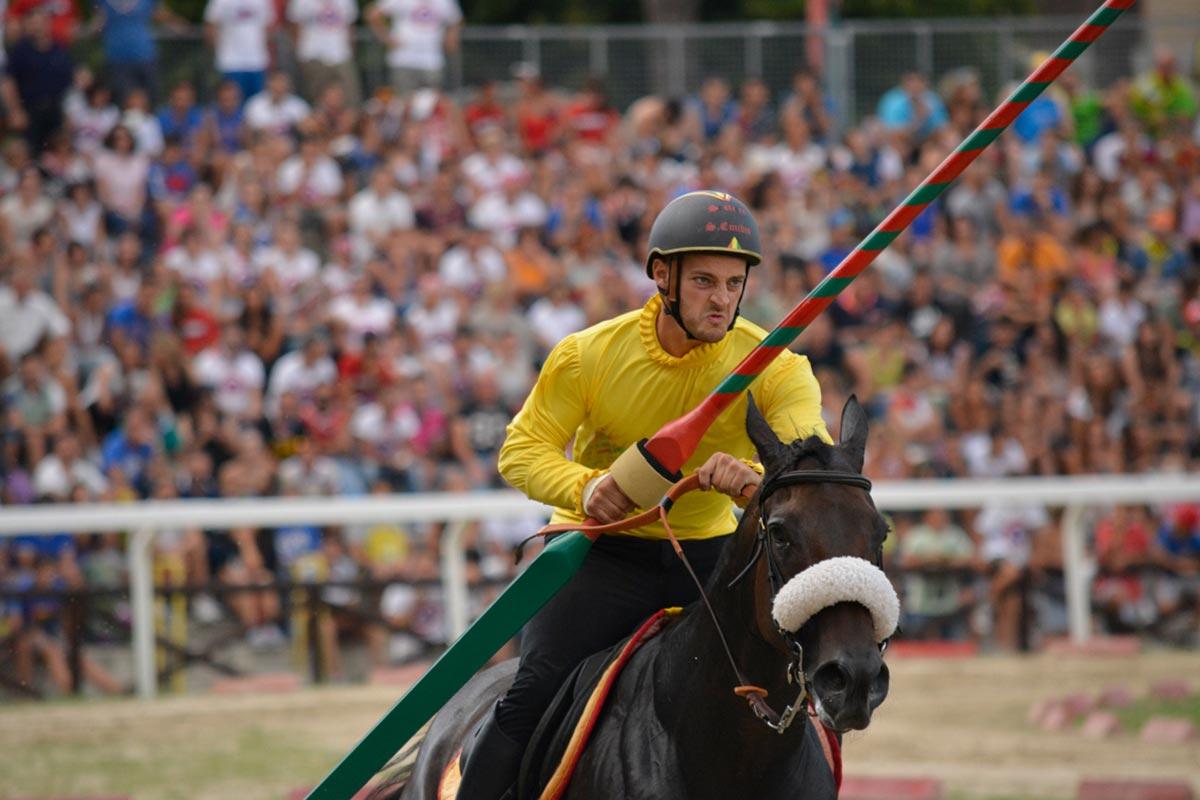 La Quintana di Ascoli Piceno: la Giostra cavalleresca e il Palio