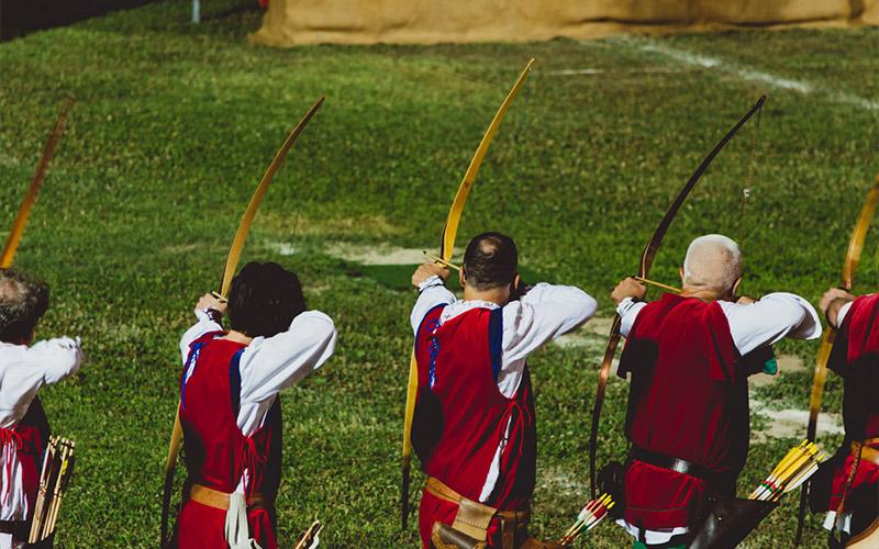 Quintana di Ascoli Piceno: gli arcieri si preparano alla conquista del Palio!